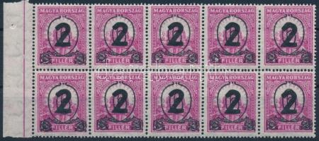 1932 Kisegítő 518 ívszéli tízestömb (250.000++)