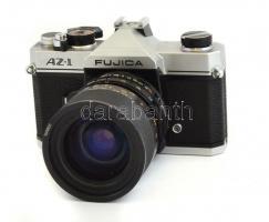 Fujica AZ-1 filmes SLR fényképezőgép, Tamron adaptall 35-70mm f/3-5.4-5 objektívvel, nagyon szép, működőképes állapotban