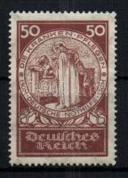 1924 Nothilfe záróérték Mi 354 (Mi EUR 120.-)