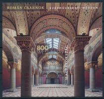 2019 A Szépművészeti Múzeum felújított Román Csarnoka vágott blokk (7.000)