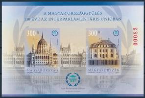 2019 A magyar országgyűlés 130 éve az Interparlamentáris Unióban vágott blokk (7.000)