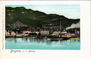 Bregenz, m. d. Pfänder / steamship, ship station