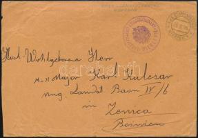 1916 Tábori posta levél K.u.k. ETAPPENPOST u. TELEGRAPHENAMT WIERZBNIK