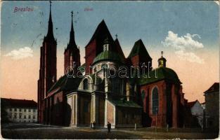 1921 Wroclaw, Breslau; Dom / cathedral (EK)