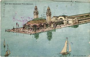 1915 Chicago (Illinois), East End Amusement Pier (EK)
