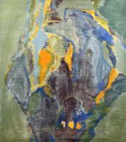 Szily Géza (1938-): Alkonyat kastély, 1975. Tojástempera, olaj, vászon. Jelzett, hátoldalán autográf felirattal. Kisebb felületi sérülésekkel (festékhiánnyal). Fa keretben. 90x100 cm. KIZÁRÓLAG SZEMÉLYES ÁTVÉTEL, NEM POSTÁZZUK!