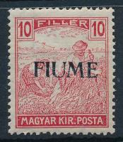 Fiume 1918 Arató 10f garancia nélkül (min 60.000)