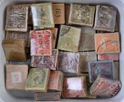35 db Turul bündli az 1900-1910 közötti időszakból, műanyag dobozban