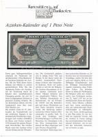 Mexikó 1970. 1P német nyelvű ismertetővel T:I Mexico 1970. 1 Peso with information text in German C:UNC