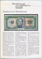 Uruguay 1975. 500P német nyelvű ismertetővel T:I Uruguay 1975. 500 Pesos with information text in German C:UNC