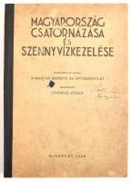 Magyarország csatornázása és szennyvízkezelése. Szerk: Lesenyei József. Bp,1943, magyar Mérnök és Építészegylet. Félvászon-kötés,borító helyenként foltos ,kopottas állapotban.