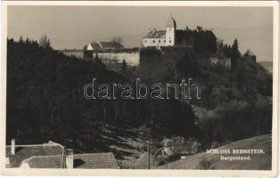 Borostyánkő, Bernstein; Schloss / vár / castle. Atelier Karner