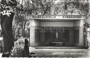 Kabold, Kobersdorf; Mineralquelle / forrás / mineral spring source (EK)