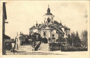1948 Kismarton, Eisenstadt; Kalvarienbergkirche mit Haydngrab / Kálvária / calvary (EB)