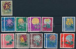 1960-1961 Krizantém 19 bélyeg (Mi EUR 90.-)
