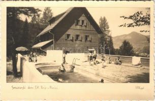 Planica, Smucarski dom S.K. Ilirije / hotel spa, swimming pool. photo