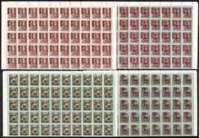 1946 Betűs II. kiadás sor hajtott teljes 100-as ívekben (20.000)