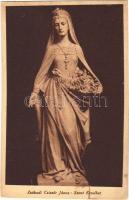 Szent Erzsébet. Készüljetek a Szent Imre Év méltó megünneplésére! 1030-1930 / Saint Elizabeth of Hungary s: Zsákodi Csiszér János (fl)
