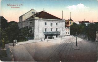 1924 Kaliningrad, Königsberg i. Pr.; Stadttheater / theatre