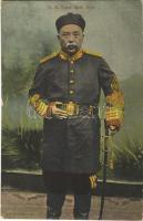 H.E. Yuan Shih Kai / Yuan Shikai in Qing dynasty uniform