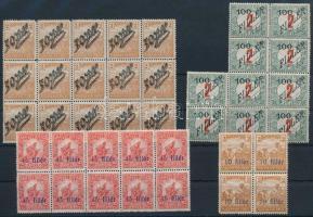 1919 4 klf összefüggés, minden érték Bodor vizsgálójellel (11.600)