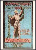 Az 1932-es los angelesi olimpia plakátjának modern reprintje 35x25 cm