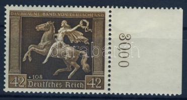1938 Das Braune Band ívszéli Mi 671 / margin