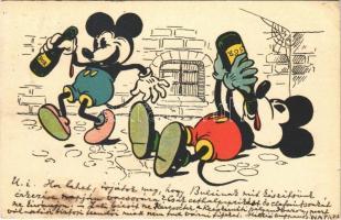 1931 Mickey Mouse art postcard. Walter E. Disney (EK)