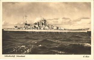 Schlachtschiff Scharnhorst / Kaiserliche Marine, Nazi-Germany battleship