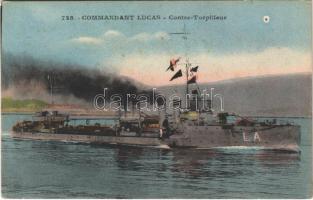 Commandant Lucas Contre Torpilleur / French Bisson-class destroyer Commandant Lucas