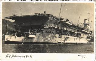 Engl. Aviononosac Glorius / HMS Glorious second of the three Courageous-class battlecruisers of the Royal Navy (fl)