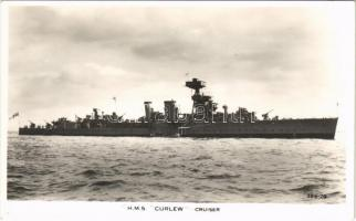 HMS Curlew C-class light cruiser of the Royal Navy