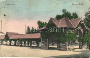 1910 Tarcsa, Tarcsafürdő, Bad Tatzmannsdorf; Fedett sétány / colonnade, spa (EB)