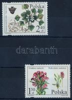Védett és veszélyeztetett növények sor, Protected and endangered plants set, Geschützte und gefährdete Flora Satz