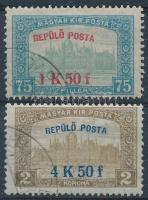 1918 Repülő posta sor (15.000)
