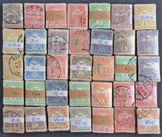 35 db Turul bündli kis dobozban, kutatáshoz kiváló, átnézetlen anyag