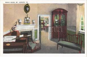 Mount Vernon (Virginia); music room