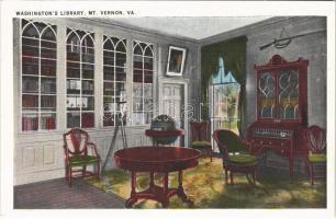 Mount Vernon (Virginia); Washingtons library