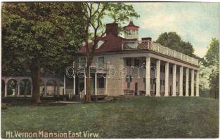 Mount Vernon (Virginia); mansion east view