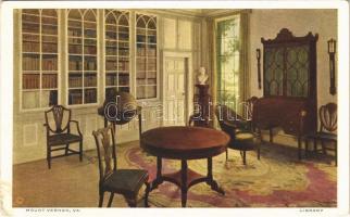 Mount Vernon (Virginia); library (EK)