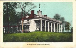 1912 Mount Vernon (Virginia); the home of Washington (EK)