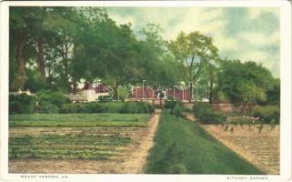 Mount Vernon (Virginia); kitchen garden