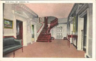 Mount Vernon (Virginia); main hall (EK)