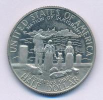 Amerikai Egyesült Államok 1986S 1/2$ Cu-Ni Bevándorlók Nemzete T:1 (eredetileg PP) fo. USA 1986S 1/2 Dollar Cu-Ni A Nation of Immigrants C:UNC (originally PP) spotted Krause KM#212