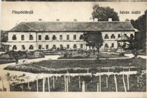 Püspökfürdő István hotel, Püspökfürdő István szálloda