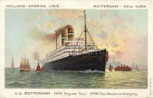 Holland-Amerika line, Rotterdam-New York, SS Rotterdam, Holland-Amerika line, Rotterdam-New York, SS Rotterdam