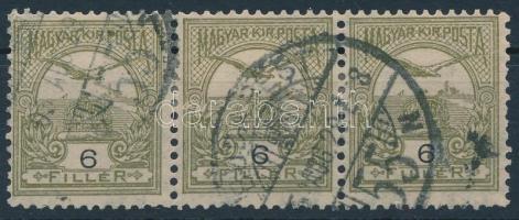1904 Turul 6f hármascsík