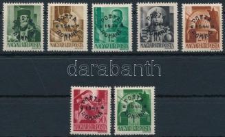 Máramarossziget 1944 7 értékes sor garancia nélkül (174.000)