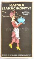 Tutsek Anna: Katóka szakácskönyve, Reprint kiadás. Bp., 1987, Közgazdasági és Jogi Könyvkiadó.Második kiadás. Kiadói kartonált papírkötésben, kissé kopott borítóval, de egyébként jó állapotban.