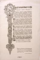 1933 Gödöllő, Teleki Pálhoz címzett kiáltvány a Jamboree sikeres megszervezése és lebonyolítása ügyén